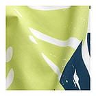 Гардины с прихватом IKEA URSKOG 120x300 см 1 пара с рисунками джунглей зеленый 303.938.93, фото 2