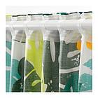 Гардины с прихватом IKEA URSKOG 120x300 см 1 пара с рисунками джунглей зеленый 303.938.93, фото 5