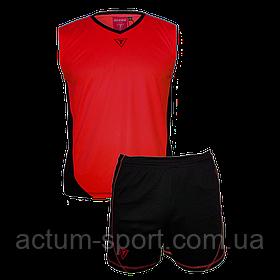 Волейбольная форма Triumph Titar красно/черная