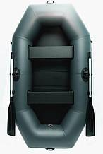 Лодка двухместная надувная пвх для рыбалки Grif boat GN-250