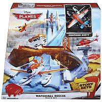 Игровой трек Водопад Спасение Disney Planes Waterfall Rescue Track Set