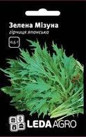 """Семена горчицы зеленой Мизуна, 0,5 гр., японской, ТМ """"ЛедаАгро"""""""