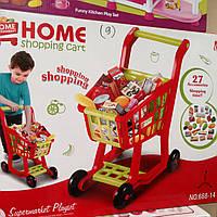 Тележка детская для продуктов + аксессуары, 668-14