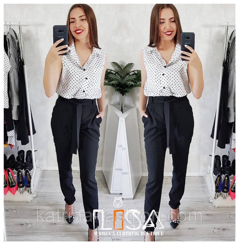Женский красивый костюм: блуза и брюки (3 цвета)