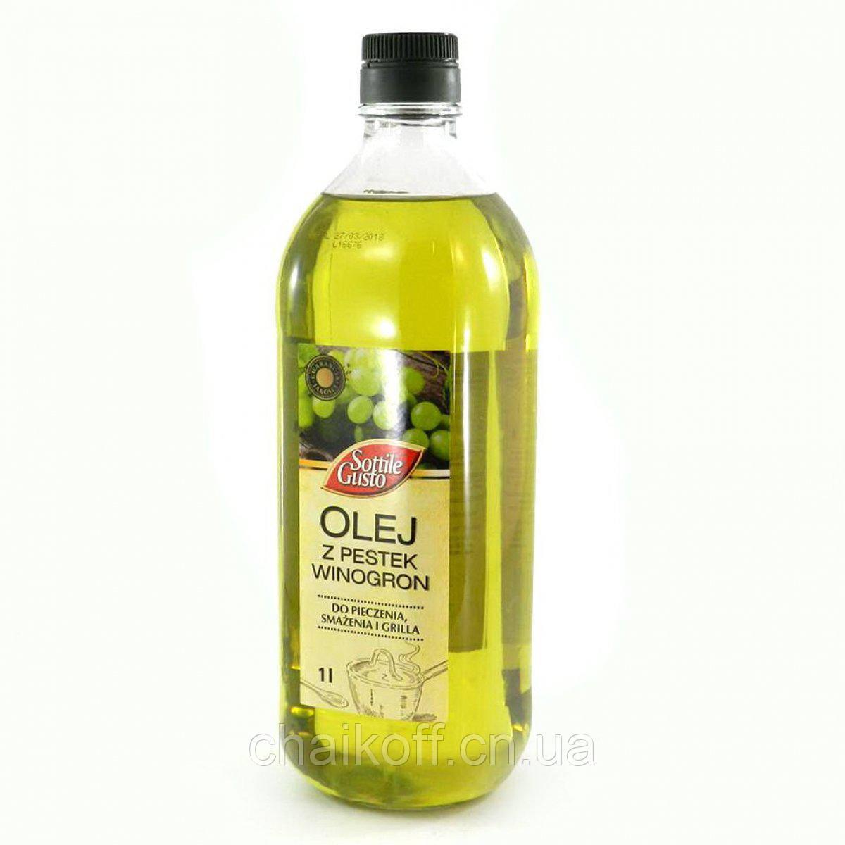 Масло из виноградных косточек Sottile Gusto1 л ( Польша)