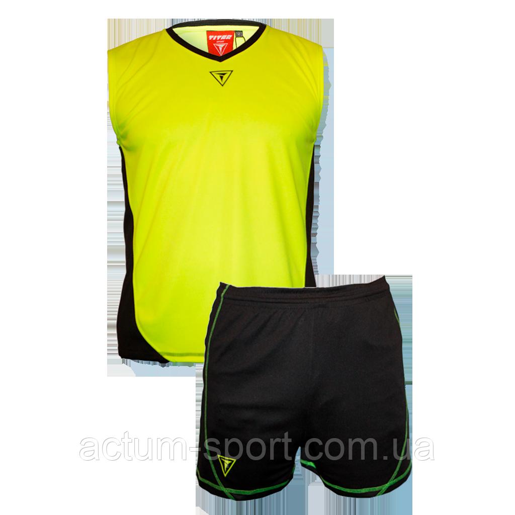Волейбольная форма Triumph Titar лимон/черная Лимон/черный, XL