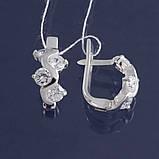 Изящные серебряные серьги Смородина, фото 3
