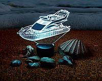 "3D светильник ""Яхта"" 3DTOYSLAMP"