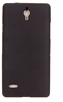 Чехол-накладка на телефон Huawei Ascend G700 черный