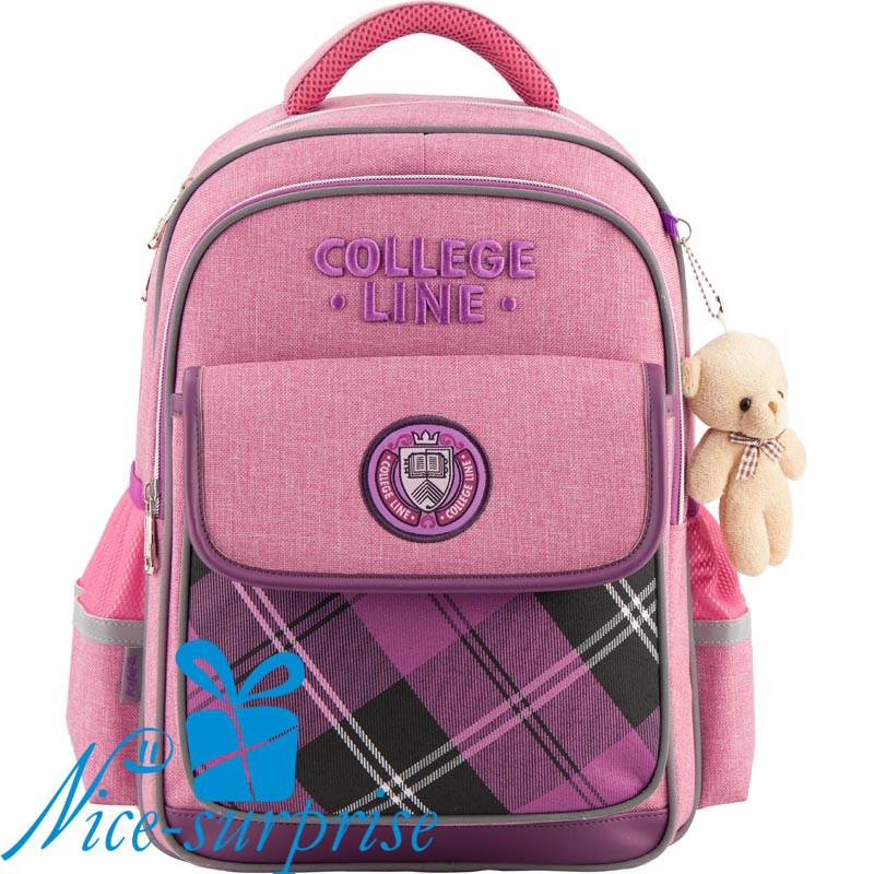 24d9b43d960a Школьный ортопедический рюкзак для девочки Kite Сollege line K18-736M-1 -  Интернет-