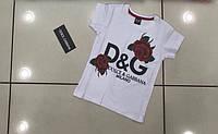 Красивая футболка для девочек от  98 до 152 см рост.