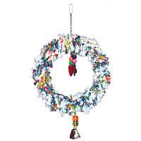 Цветное кольцо обозрения для крупного попугая(Балахон)