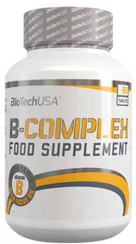 Витамины BioTech USA Vitamin B Complex 60 tabs