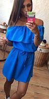 Платье с воланом  ля050, фото 1