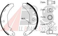 Колодки тормозные барабанные VOLVO 850 задние (ABS). 8925