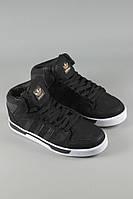 Кроссовки Adidas ST черные высокие (реплика)