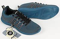 Кроссовки унисекс женские подростковые Bona Бона сетка синие Размеры 36 37 38 39 40 41, фото 1