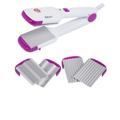 Выпрямитель для волос керамика 30 Вт Чехия SATURN ST-HC0306