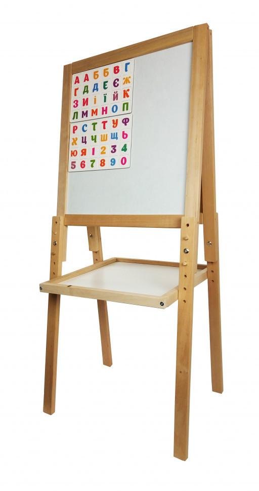 Мольберт деревянный для рисования мелом и маркером 11222