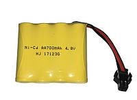 Аккумулятор для р/у игрушек Ni-Cd 700mAh 4.8V