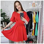 Женское платье с кружевноми вставками (7 цветов), фото 3