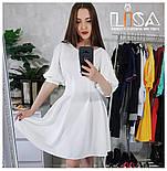 Женское платье с кружевноми вставками (7 цветов), фото 6