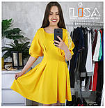 Женское платье с кружевноми вставками (7 цветов), фото 7
