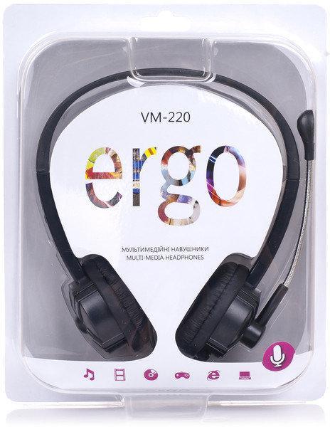 Наушники ERGO VM-220