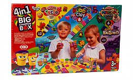 Набор для лепки 4в1 BIG CREATIVE BOX Danko Toys 7858DT