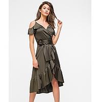 Женское нарядное платье  из шелка 5979