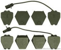 Колодки тормозные передние Audi A8 4D0698151D, фото 1