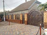Кованые ворота Купер