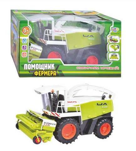 Игрушечный комбайн Limo Toy M0344 Помощник фермера