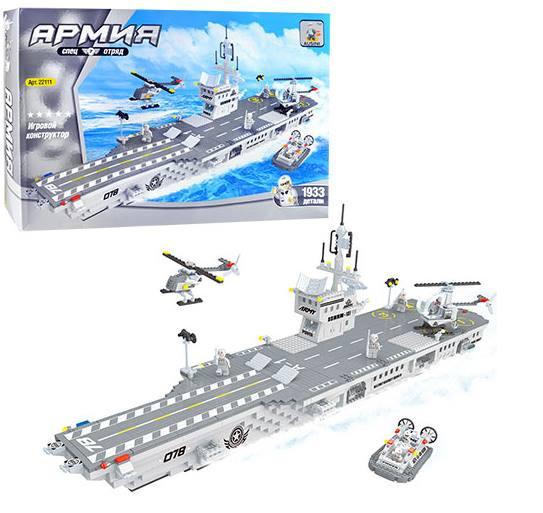 Конструктор блочный Ausini 22111 Авианосец