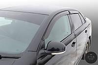 Дефлекторы окон (ветровики) клеющие / накладные Д/о Skoda Octavia А4 Tour 1996-> 4D 4шт (ANV-AIR)
