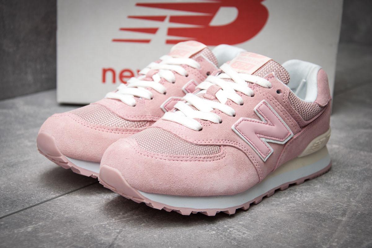61b068bda47438 Купить сейчас - Кроссовки женские New Balance 574, розовые (12083 ...