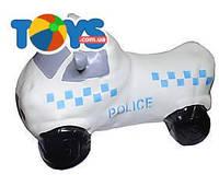 Прыгун полицейская машина (белая), BT-RJ-0036