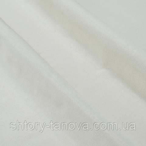 Декоративная тафта молочный