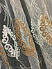 Тюль вышивка Изабелла Виски, фото 2