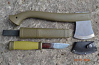 Набор MORA (топор - Outdoor Axe Camp 1991 и нож MORA Outdoor 2000)