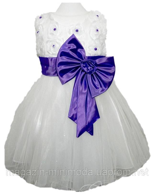 59db90a7c07279a Белое платье для девочки