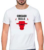 "Футболка мужская ""CHICAGO BULLS"" XS/S/M/L/XL/XXL"