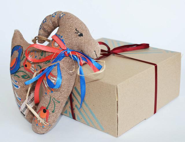 подарочный набор Коза цветочная