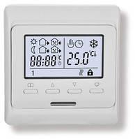 Терморегулятор программируемый для теплого пола Klimteh M6.716