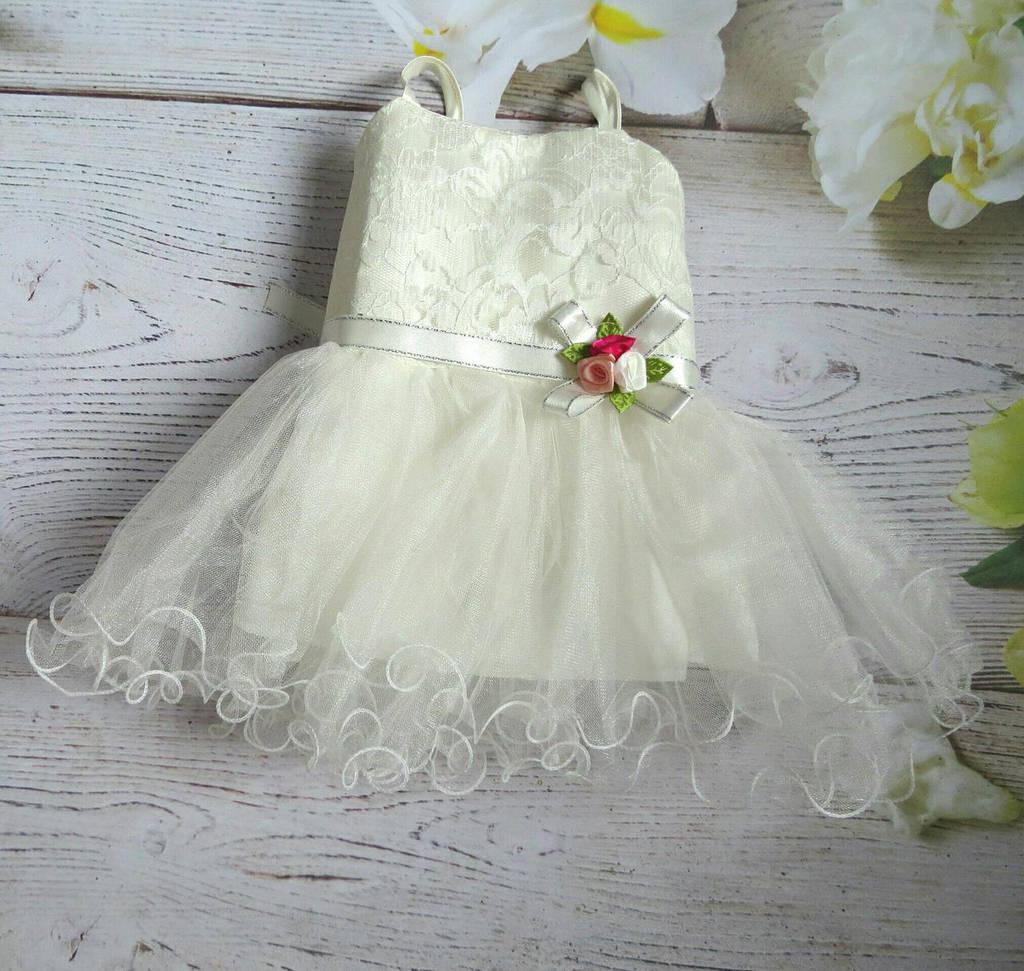 Нарядное платьице для девочки 1 2 3 4 года
