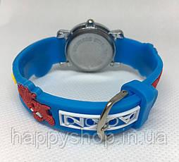 Детские наручные часы для мальчика SPIDER-MAN (голубые), фото 3