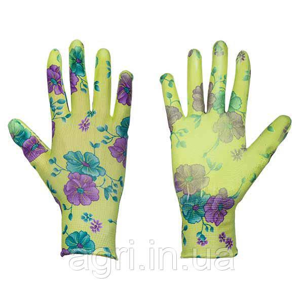 Защитные перчатки, PURE FLOXY, полиуретан, размер 7