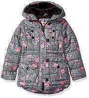 Теплая куртка с капюшоном для девочки Urban Republic, 5-6 лет.