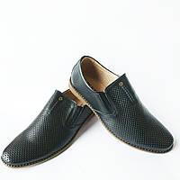 Качественная мужская обувь на лето   кожаные туфли fc45153473d7a