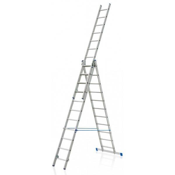 Лестница алюминиева 3х10 HIGHER